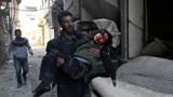 Hình ảnh tang thương chiến sự Ghouta, Syria