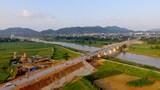 Thông xe kỹ thuật dự án cầu 210 tỷ đồng tại thị xã Thái Hòa