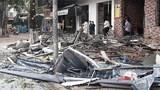 VIDEO: Cứu nạn vụ nổ nhà hàng lẩu nướng tại TP Vinh