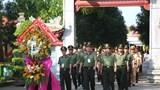 Đoàn đại biểu Công an nhân dân dâng hương tưởng niệm Chủ tịch Hồ Chí Minh