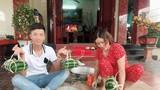 Phan Văn Đức lần đầu gói bánh chưng, Đức Chinh bên bạn gái ngày Tết