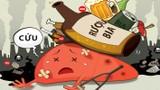 [Infographics] - Các hành vi bị nghiêm cấm trong Luật Phòng, chống tác hại của rượu, bia 2019