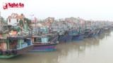 Quỳnh Lưu: Bất cập chỗ neo đậu tàu thuyền