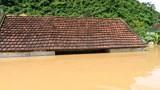 Nghệ An: Lũ ngập đến nóc nhà dân trong ngày nắng