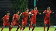 Hai cầu thủ trẻ SLNA sẵn sàng hướng tới Vòng loại U23 châu Á 2022