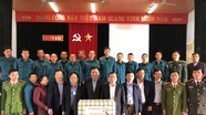 Ban Nội chính Tỉnh ủy thăm, tặng quà Tết gia đình chính sách tại thị xã Thái Hòa