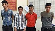 Bắt nóng nhóm thanh niên chém người cướp xe máy