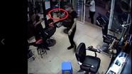Nghi án dùng súng truy sát người trong tiệm cắt tóc