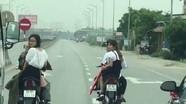 Truy tìm nhóm thanh niên đầu trần, dàn hàng ngang trên Quốc lộ 1A