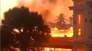 Ngôi nhà gỗ tiền tỷ cháy rụi ngày mùng 4 Tết