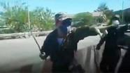 Khởi tố nhóm người bịt mặt đập phá xe ô tô, xịt hơi cay tại trạm thu phí