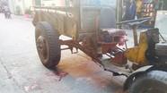 Cháu bé 4 tuổi ở Nghệ An bị xe công nông tông chết
