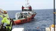 Bắt đầu trục vớt tàu cá Nghệ An bị chìm cùng 9 ngư dân mất tích