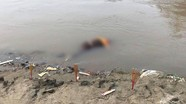 Đi bắt cá cùng bố, con bị trượt chân xuống hồ chết đuối