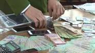 Công an Nghệ An thông tin bắt vụ đánh bạc lớn trong quán karaoke
