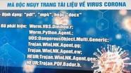 Công an cảnh báo về hacker phát tán mã độc qua tin Covid-19