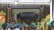 Lễ viếng truy điệu 2 liệt sỹ phi công SU22 tại Nghệ An