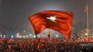 Video: Toàn cảnh thành Vinh trắng đêm mừng chiến thắng U23 Việt Nam
