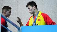 Vận động viên Trung Quốc la lối sau khi bị hắt hủi trên bục nhận huy chương vàng