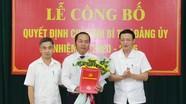Công bố quyết định chỉ định chức danh Bí thư Đảng ủy Tòa án nhân dân tỉnh Nghệ An