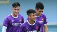 Văn Đức, Văn Hoàng, Tuấn Tài phấn chấn trong buổi tập cùng đội tuyển Việt Nam