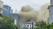 Cháy ở khách sạn Vinh Plaza