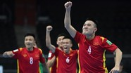 Cầm hòa Czech, Việt Nam lần thứ 2 liên tiếp vào vòng 1/8 futsal World Cup