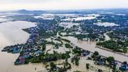 Hình ảnh chưa từng có ở tâm lụt Quỳnh Lưu