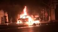 Đốt ôtô nhà hàng xóm để trả thù cho vợ