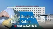 Phẫu thuật cột sống bằng Robot: Bước tiến vượt bậc tại Bệnh viện Hữu nghị Đa khoa Nghệ An