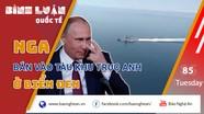 Nga bắn cảnh báo tàu khu trục Anh ở Biển Đen: Thông điệp đanh thép từ Moskva