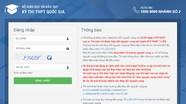 Thí sinh được cấp tài khoản phần mềm quản lý thi THPT quốc gia