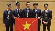Việt Nam giành hai huy chương vàng Olympic Vật lý quốc tế