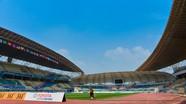 """Sân thi đấu """"5 sao"""" của Olympic Việt Nam tại vòng bảng Asiad 2018"""