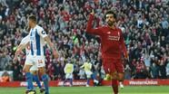 Salah giúp Liverpool chiếm ngôi đầu từ Man City