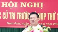 Tổng Kiểm toán Nhà nước Hồ Đức Phớc tiếp xúc cử tri huyện Nam Đàn