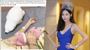 Lê Âu Ngân Anh nhập viện sau đề nghị tước vương miện Hoa hậu Đại dương