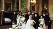 Hoàng tử Anh công bố ảnh cưới đẹp lung linh