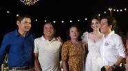 Trường Giang, Nhã Phương bên gia đình ở lễ đính hôn