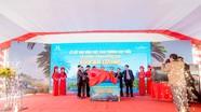 Trung tâm thương mại kết hợp chợ truyền thống Đô Lương chính thức cất nóc