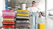 Hoa hậu H'Hen Niê lần đầu tiên xuất ngoại bằng máy bay