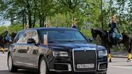 """Bật mí xế hộp """"khủng"""" đưa Putin tới lễ nhậm chức"""