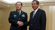 """Trung Quốc viện trợ quân sự cho Campuchia, tiếp tục tập trận chung """"Rồng Vàng"""""""