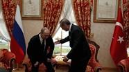 """Erdogan dùng """"thuật ngoại giao hải sản"""" với """"bạn tốt nhất"""" Putin?"""