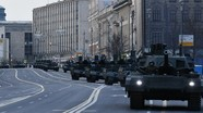 [Trực tiếp] Binh lính, phương tiện quân sự tiến về Moskva trước lễ duyệt binh mừng Ngày Chiến thắng