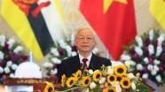 Thông điệp của Tổng Bí thư, Chủ tịch nước 'Việt Nam: Đối tác tin cậy vì hòa bình bền vững'