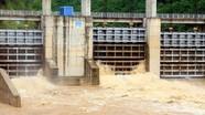 Hồ Vực Mấu và 2 nhà máy thủy điện ở Nghệ An xả lũ