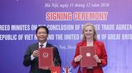 Việt Nam – Anh hoàn tất đàm phán hiệp định thương mại song phương