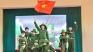Xúc động Chương trình 'Người lính trong em' của học sinh Trường THCS Hà Huy Tập (TP. Vinh)