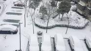 Tuyết rơi trắng xóa thành phố diễn ra chung kết U23 Việt Nam - Uzbekistan